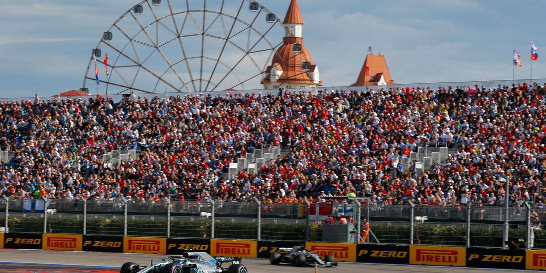 Valtteri Bottas - Mercedes - GP Russland 2018 - Sotschi - Rennen