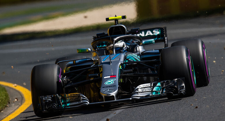 Valtteri Bottas - Mercedes - Qualifying - GP Australien 2018 - Melbourne