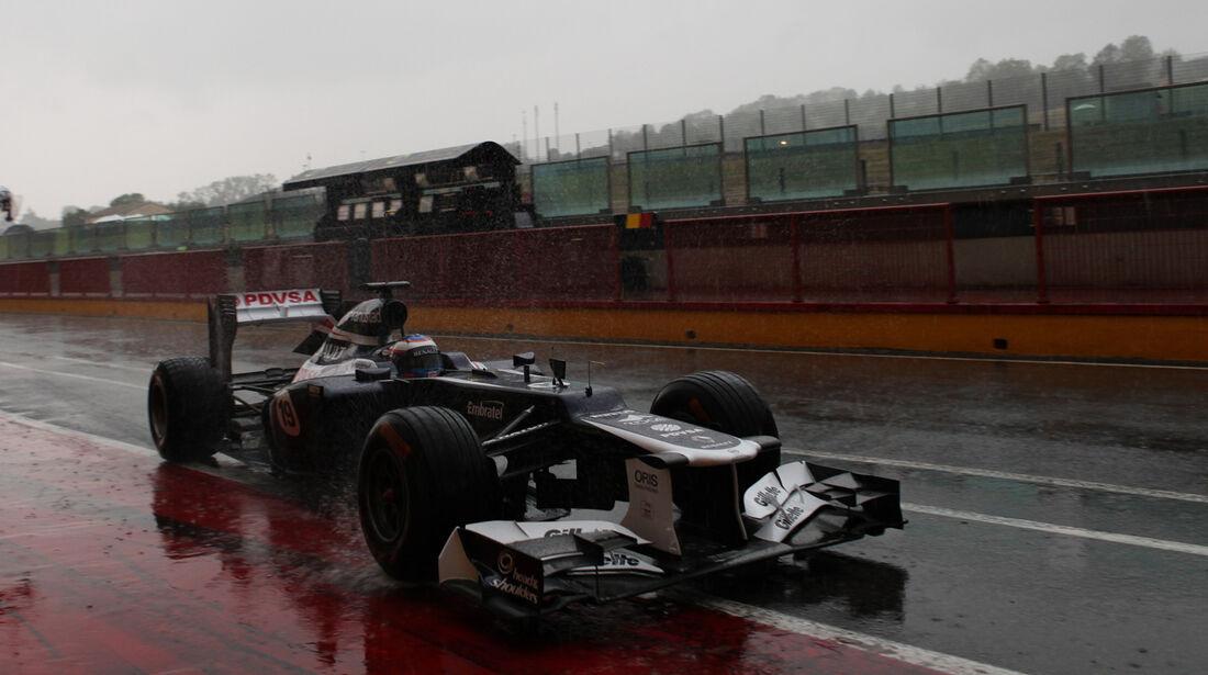 Valtteri Bottas Mugello Formel 1 Test 2012