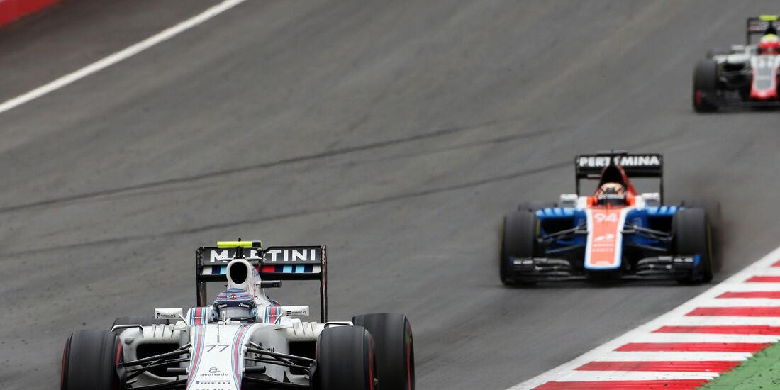 Valtteri Bottas - Pascal Wehrlein - Formel 1 - GP Österreich - 3. Juli 2016