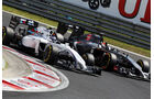 Valtteri Bottas - Williams - Adrian Sutil - Sauber - Formel 1 - GP Ungarn - 26. Juli 2014