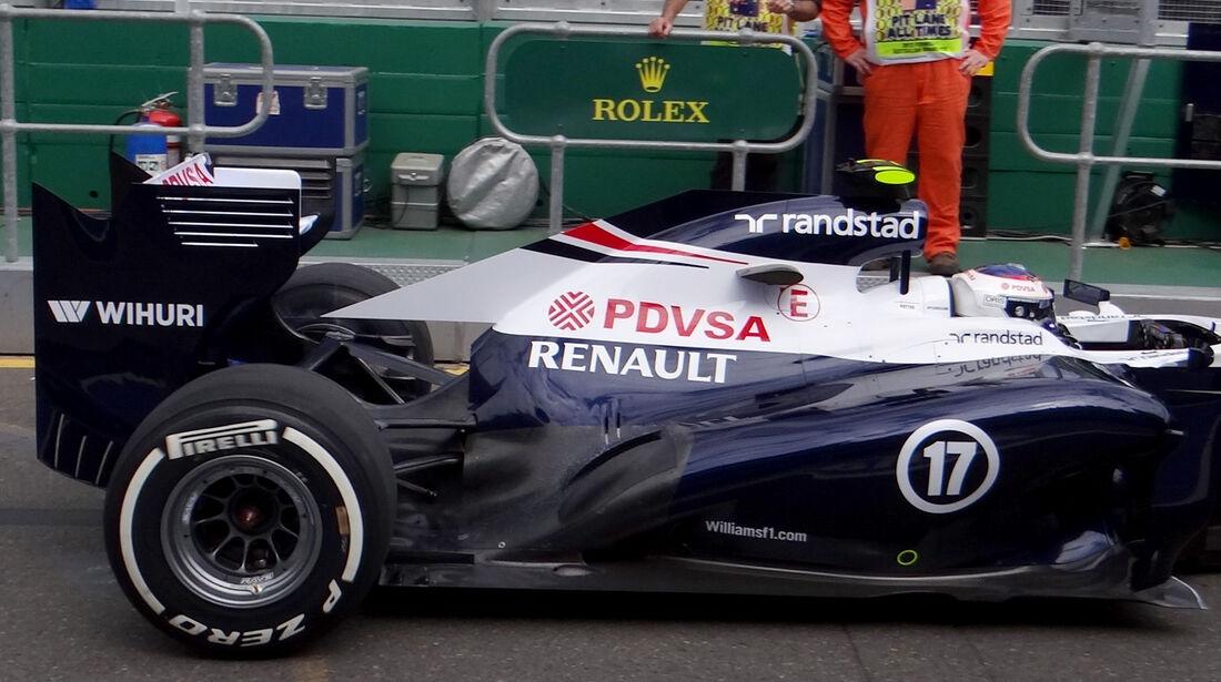 Valtteri Bottas - Williams - Formel 1 - GP Australien - 15. März 2013