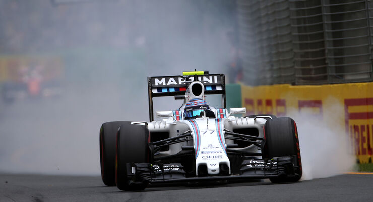Valtteri Bottas - Williams - Formel 1 - GP Australien - Melbourne - 19. März 2016