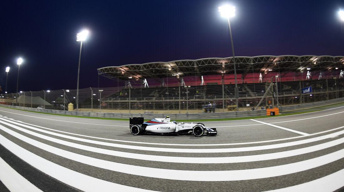 Valtteri Bottas - Williams - Formel 1 - GP Bahrain - 1. April 2016