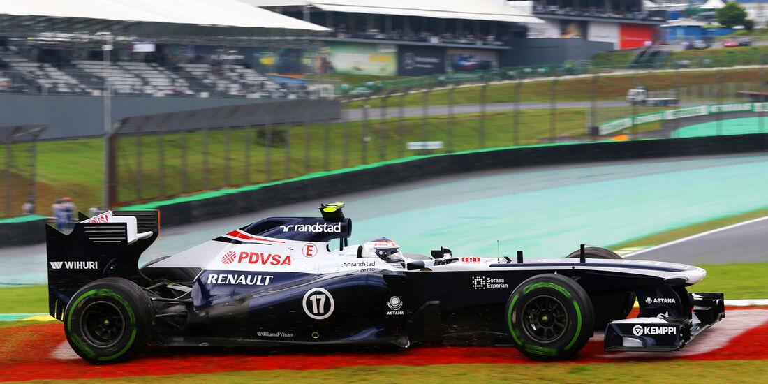 Valtteri Bottas - Williams - Formel 1 - GP Brasilien - 22. November 2013