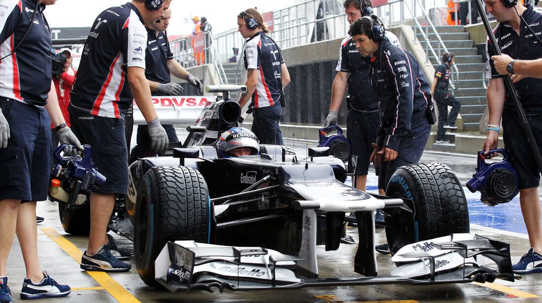 Valtteri Bottas - Williams - Formel 1 - GP England - Silverstone - 6. Juli 2012