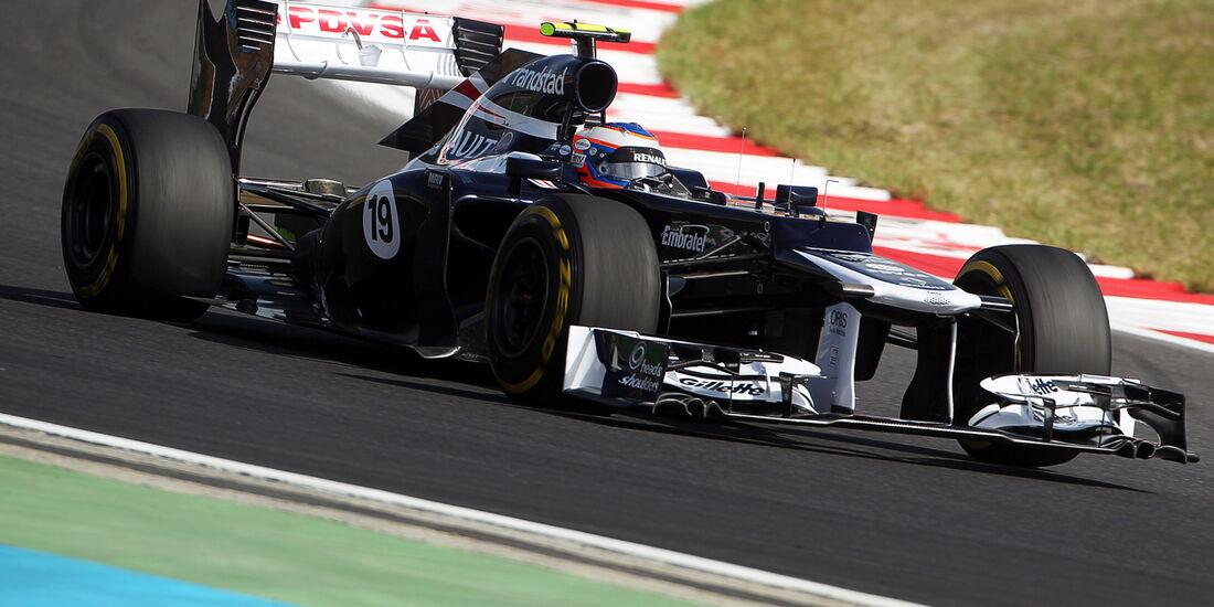 Valtteri Bottas - Williams - Formel 1 - GP Korea - 12. Oktober 2012
