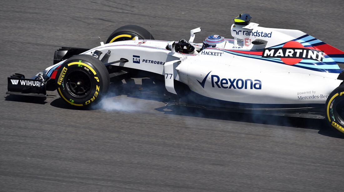 Valtteri Bottas - Williams - Formel 1 - GP Malaysia - Freitag - 30.9.2016