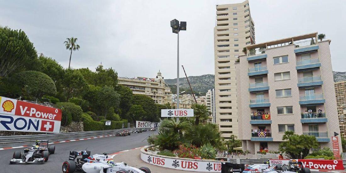 Valtteri Bottas - Williams  - Formel 1 - GP Monaco - 25. Mai 2014