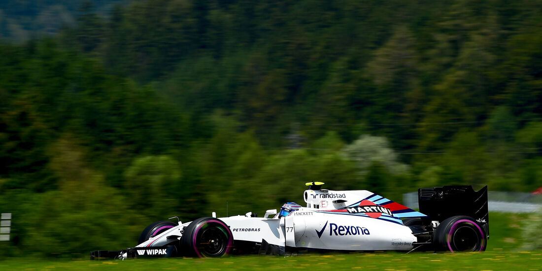 Valtteri Bottas - Williams - Formel 1 - GP Österreich - 2. Juli 2016
