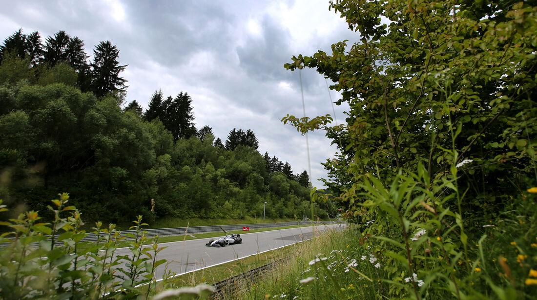 Valtteri Bottas - Williams - Formel 1 - GP Österreich - Spielberg - 21. Juni 2014
