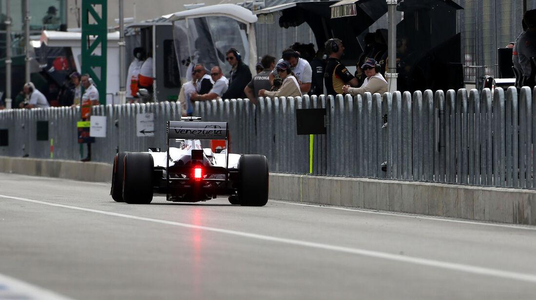 Valtteri Bottas - Williams - Formel 1 - GP USA - 16. November 2013