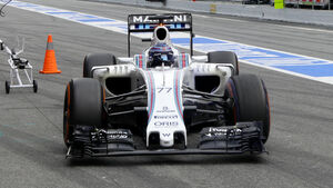 Valtteri Bottas - Williams - Formel 1 - Test - Barcelona - 2. März 2016