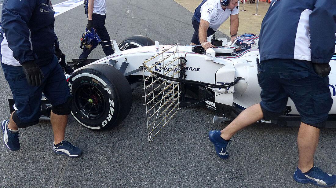 Valtteri Bottas - Williams - Formel 1-Test - Barcelona - 27. Februar 2015