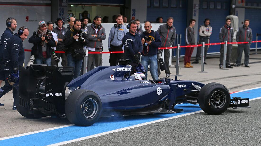 Valtteri Bottas - Williams - Formel 1 - Test - Jerez - 28. Januar 2014