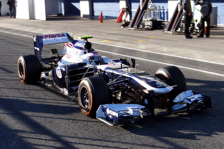 Valtteri Bottas - Williams - Formel 1 - Test - Jerez - 7. Februar 2013