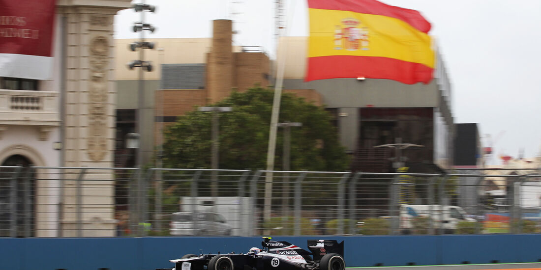 Valtteri Bottas - Williams - GP Europa - Formel 1 - Valencia - 22. Juni 2012