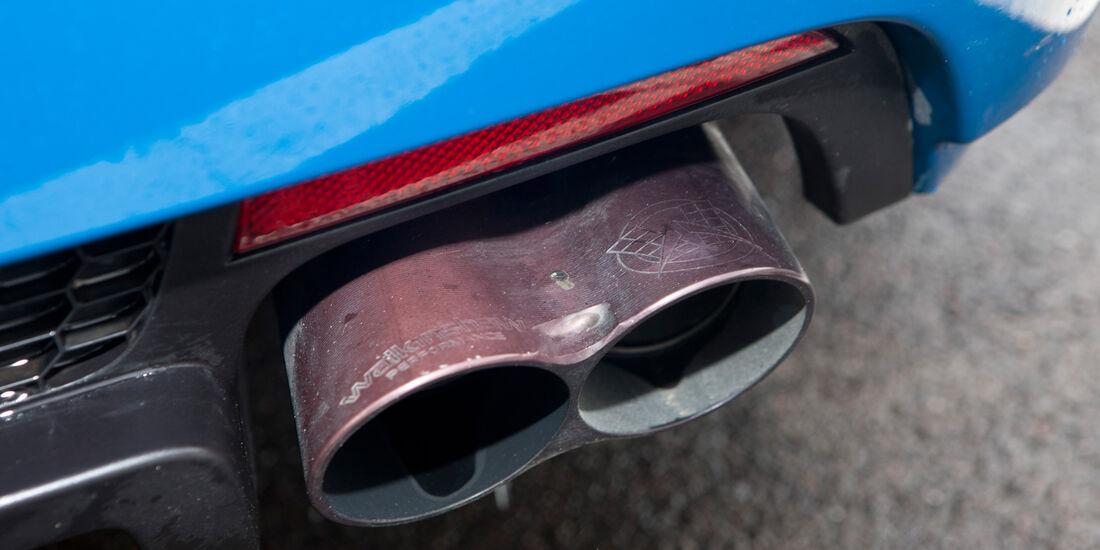 Vauxhall VXR8 Clubsport Wagon, Auspuff, Endrohr