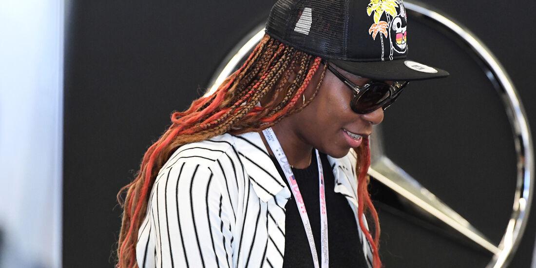 Venus Williams - Formel 1 - Austin - GP USA - 22. Oktober 2016