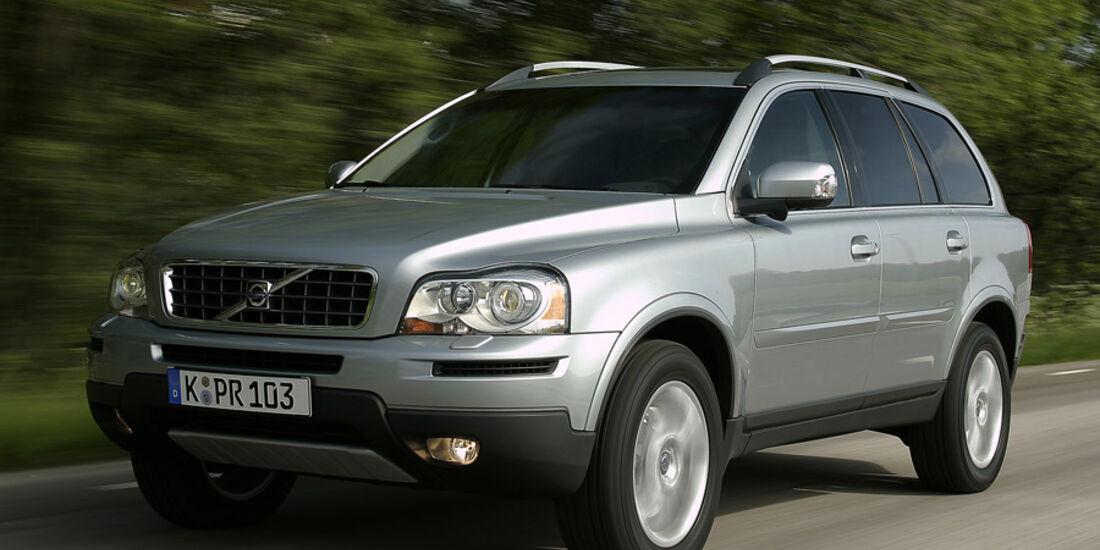 Vergleich Antriebskonzepte Volvo XC 90