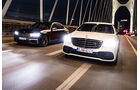 Vergleichstest BMW M760Li, Mercedes AMG S63, spa03/2019