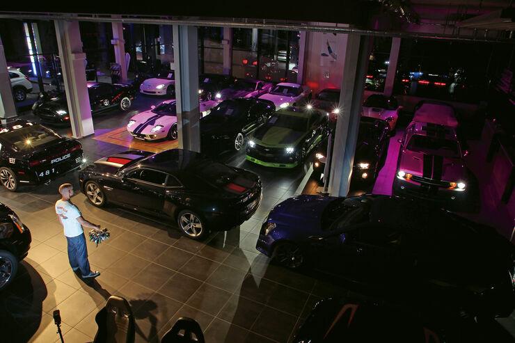 Verkaufsraum, US-Cars, München