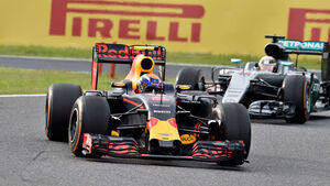 Verstappen - Hamilton - GP Japan 2016 - Suzuka