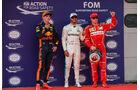 Verstappen, Hamilton & Räikkönen - Formel 1 - GP Malaysia - Sepang - 30. September 2017