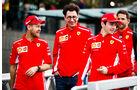 Vettel, Binotto & Leclerc - Ferrari - Formel 1 - GP Australien - Melbourne - 13. März 2019