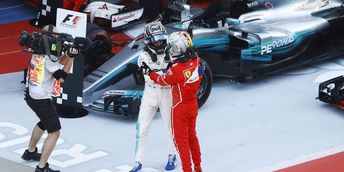 Vettel & Bottas - GP Russland 2017