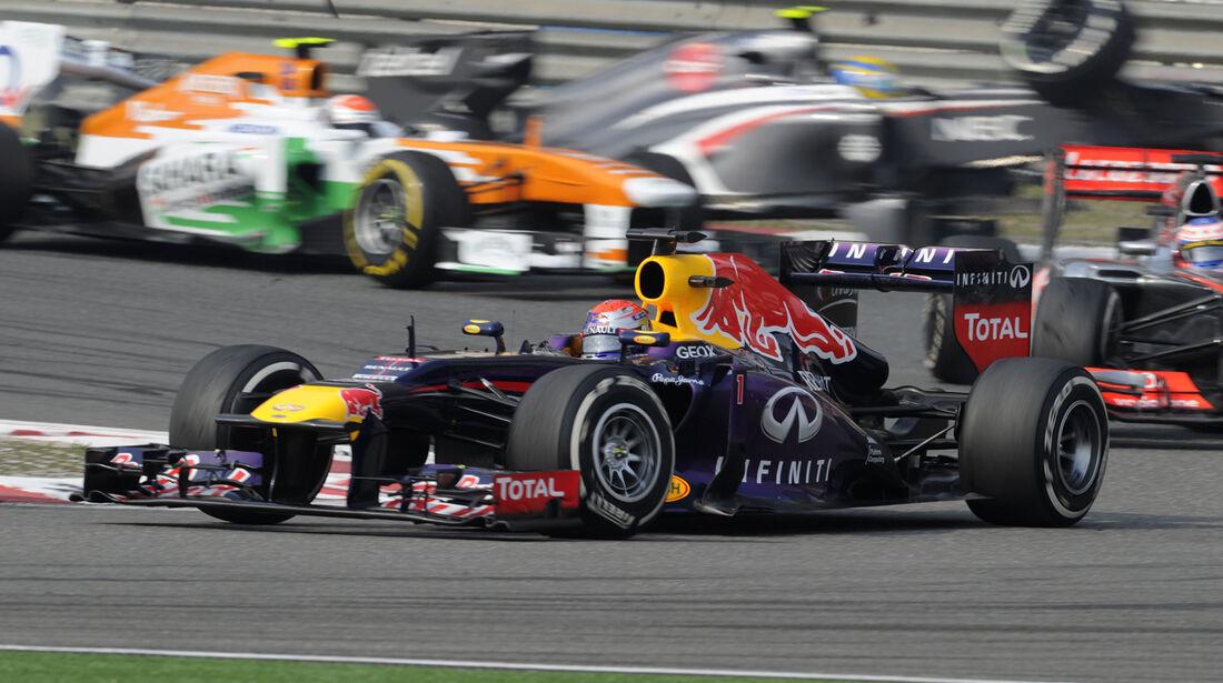 Vettel GP China 2013