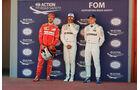 Vettel, Hamilton & Bottas - GP Spanien 2017