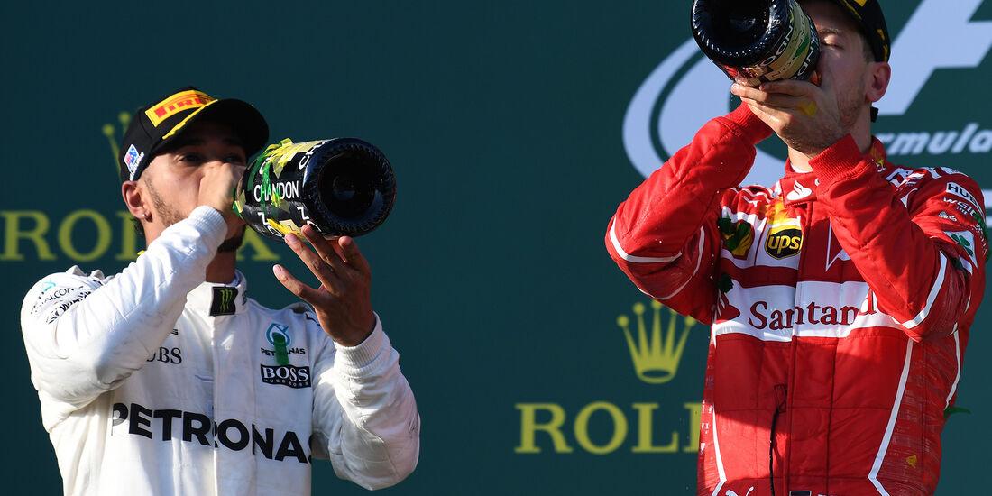 Vettel & Hamilton - GP Australien 2017