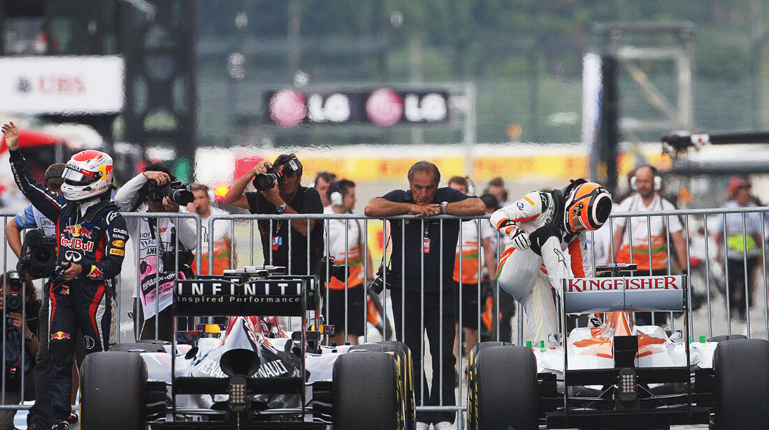 Vettel & Hülkenberg - Formel 1 - GP Japan - Suzuka - 6. Oktober 2012