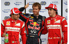 Vettel Massa Alonso GP Kanada 2011