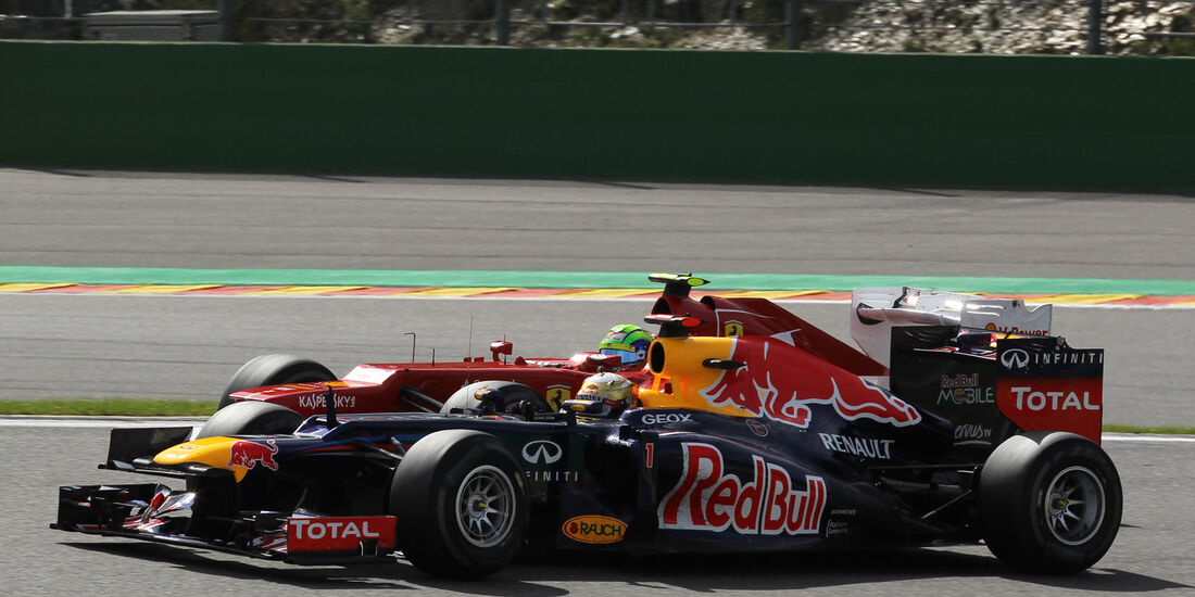 Vettel & Massa - GP Belgien 2012