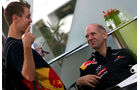 Vettel & Newey - GP Singapur - 23. September 2011