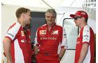 Vettel & Räikkönen - Ferrari - Formel 1 - GP Kanada - Montreal - 4. Juni 2015