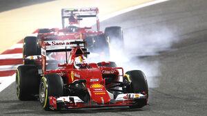 Vettel & Räikkönen - GP Bahrain 2015