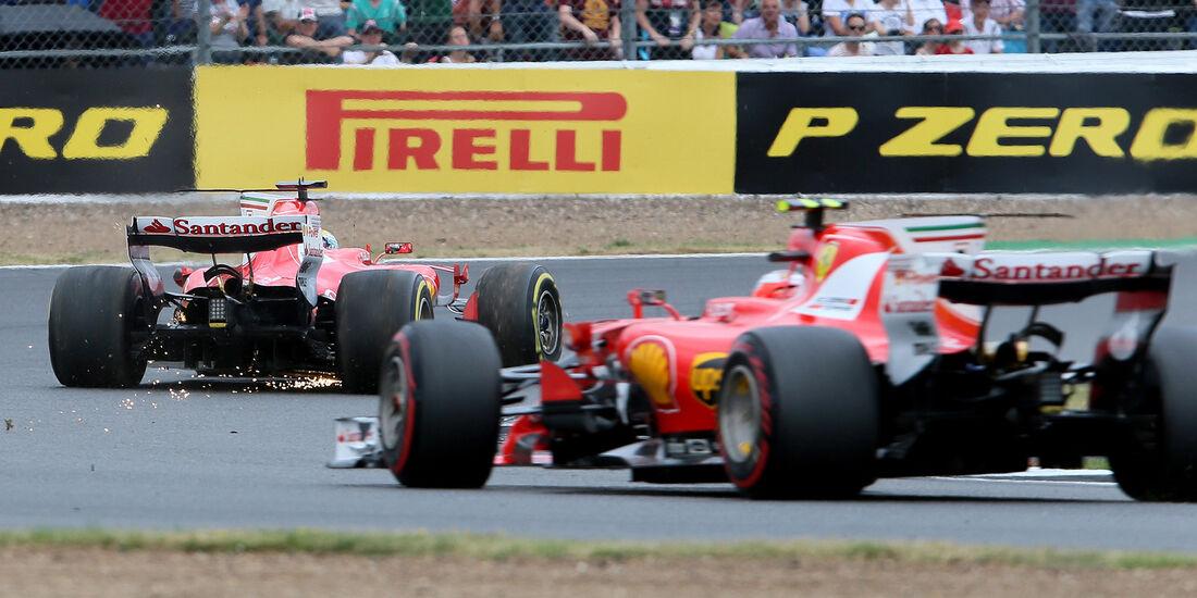 Vettel & Räikkönen - GP England 2017