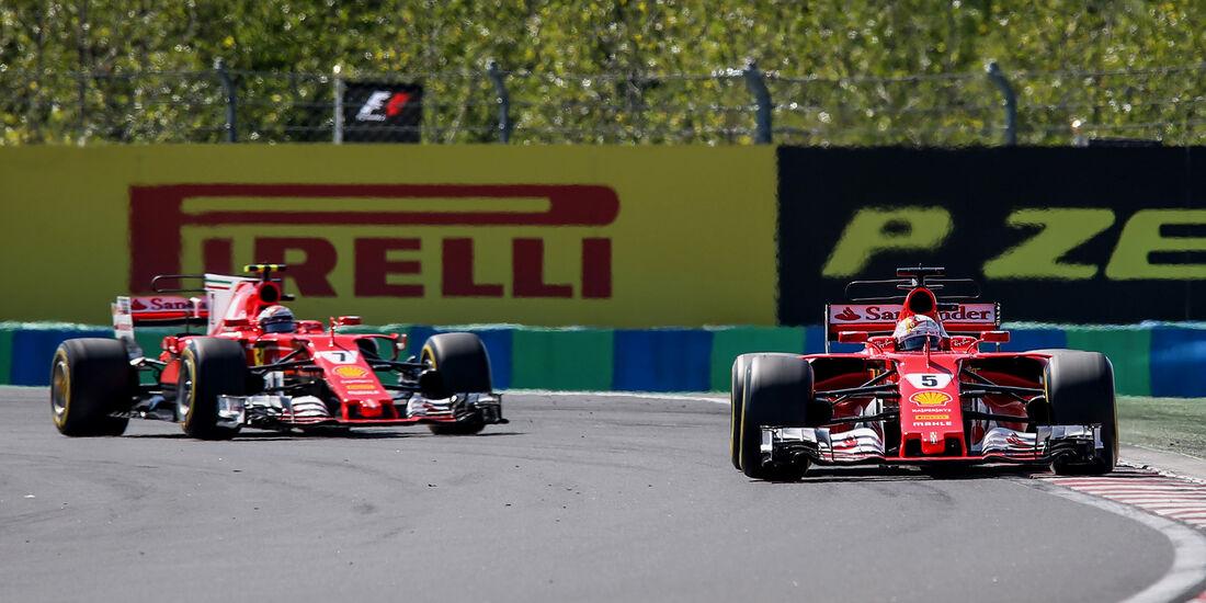 Vettel & Räikkönen - GP Ungarn 2017