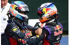 Vettel & Ricciardo - GP Kanada 2014