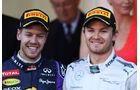 Vettel Rosberg GP Monaco 2013