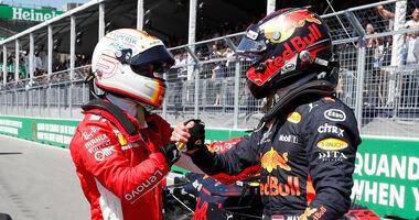 Vettel & Verstappen - GP Kanada 2018