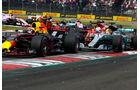 Vettel - Verstappen - Hamilton - GP Mexiko 2017 - Rennen