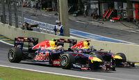 Vettel & Webber GP Brasilien 2011