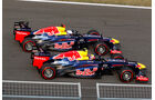 Vettel Webber Red Bull 2012 GP Korea