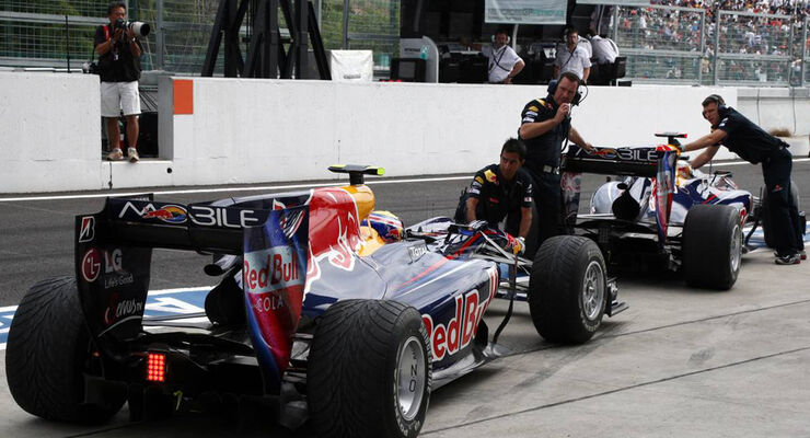 Vettel & Webber beim GP Japan