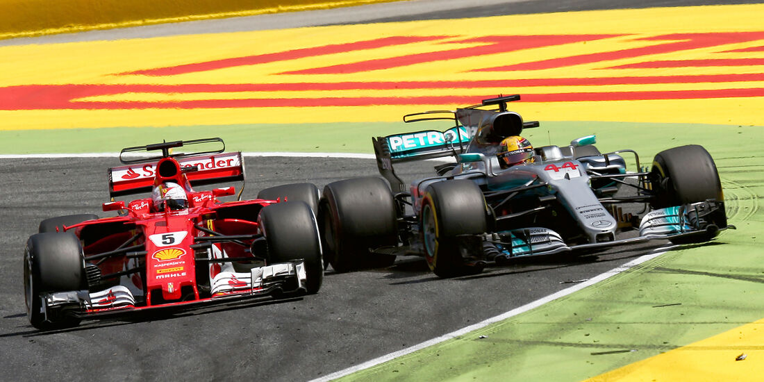 Vettel vs. Hamilton - GP Spanien 2017
