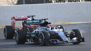 Vettel vs. Rosberg - Ferrari vs. Mercedes - Formel 1-Test - Barcelona - 23. Februar 2016